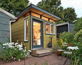 Modern Shed Instead Of A Garage Tiny House Websites