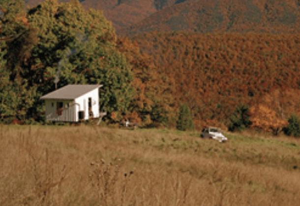 Off grid tiny house tiny house websites for Shack at hinkle farm