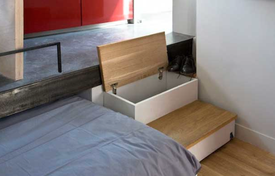 Paris Micro Apartment With Magical Storage Tiny House Websites